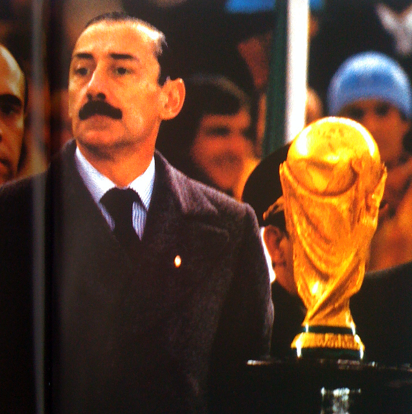 President Videla met de WorldCup