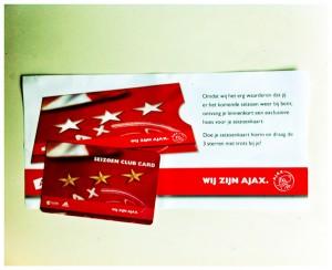 Seizoenkaart Ajax
