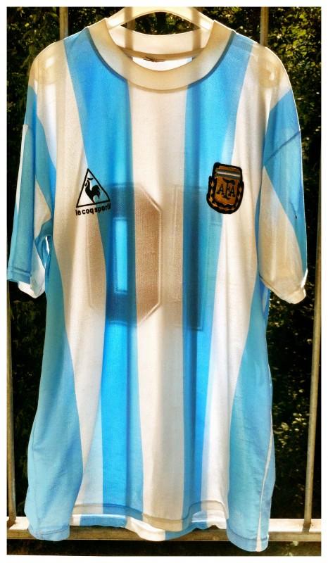 Argentinie Shirt 1986