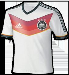 Duitsland 2014 thuisshirt