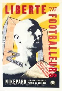 Nike Park Paris 1998 Poster