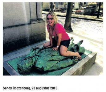Sandy Roozenburg in Trekpleister
