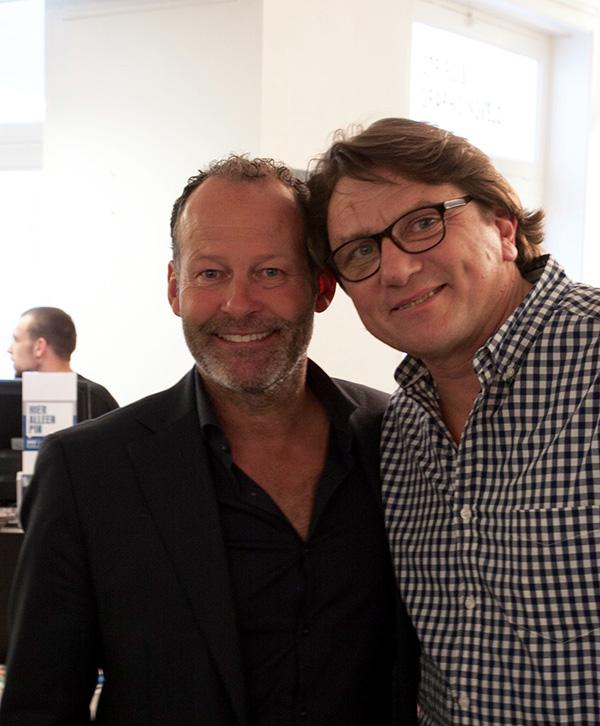 Danny Blind en Marcel Stephan