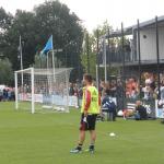Theo Janssen op de training