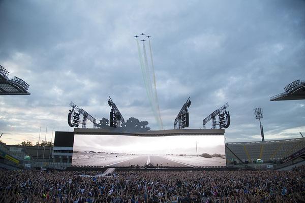 U2 Croke Park flyover