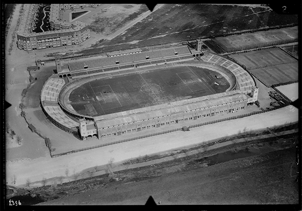 Amsterdam Stadion rond 1925